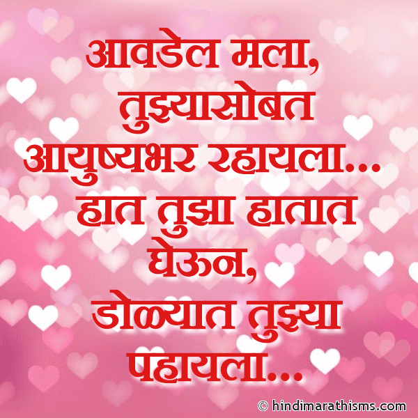 Aavdel Mala Tujhyasobat Rahayla