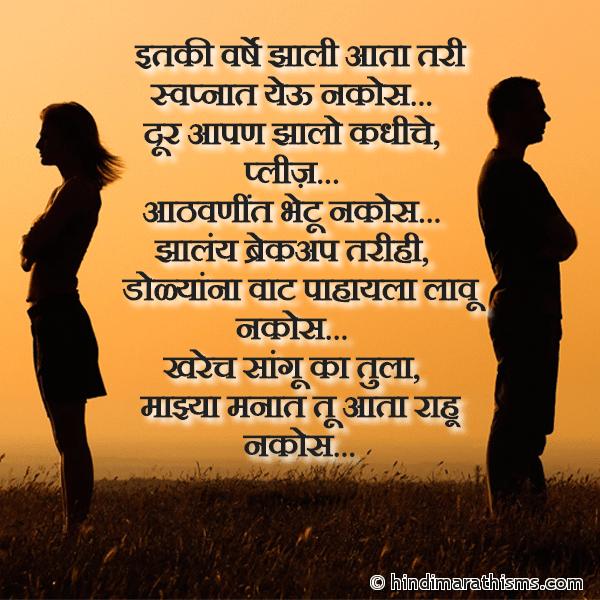 Jhale Aahe Breakup Aaple