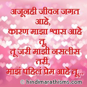 Majhe Pahil Prem Aahe Tu